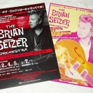 THE BRIAN SETZER ORCHESTRA (The Stray Cats) two tour flyers Japan 2009 [PM-100f]