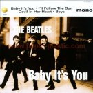 THE BEATLES Baby It's You CD flyer Japan 1995 [PM-100f]