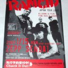 RANCID tour & CD release flyer Japan 2007 [PM-100f]