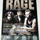 RAGE concert & CD flyer Japan 2005 [PM-100f]