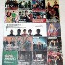 RADIOHEAD DEATH CAB FOR CUTIE BACKYARD BABIES STERIOGRAM blink-182 tour  flyer Japan 2004 [PM-100f]