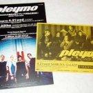 PLEYMO two tour & CD flyers Japan 2004 [PM-100f]