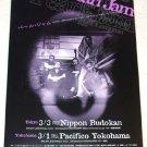 PEARL JAM gig & CD flyer Japan 2003 [PM-100f]