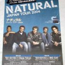 NATURAL tour & CD flyer Japan 2004 [PM-100f]
