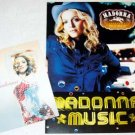 MADONNA flyer and postcard for her album MUSIC - Japan 2000 [PM-200f]