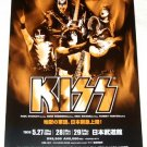 KISS Nippon Budokan concert flyer Japan 2004 [PM-100f]