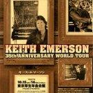 KEITH EMERSON 35th anniv. tour flyer Japan 2005 - ELP [PM-100f]