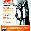 JET tour & CD flyer Japan 2004 [PM-100f]