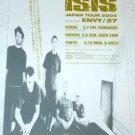 ISIS tour flyer Japan 2004 [PM-100f]