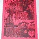 GUITAR WOLF Loverock tour flyer USA/Canada/OZ/NZ 2005 [PM-100f]