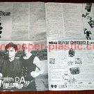 GREEN DAY American Idiot foldout flyer Japan 2004 [PM-100f]