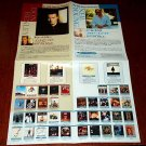 DON HENLEY Eagles NEIL YOUNG foldout flyer Japan 2000 [PM-100f]