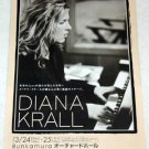 DIANA KRALL concert & CD flyer Japan 2005 [PM-100f]