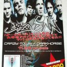 CRAZY TOWN Darkhorse CD flyer Japan 2002 [PM-100f]