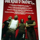BACKYARD BABIES tour & CD flyer Japan 2004 [PM-100f]