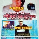 ARMIN VAN BUUREN / BARTHEZZ concert flyer Japan 2003 [PM-100f]