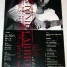 ANTONIO CARRION concert flyer Japan 2006 - flamenco [PM-200f]