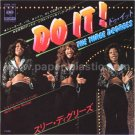 THE THREE DEGREES Do It (Use Your Mind) 45 w/PC Japan only [7-100]