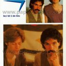 HALL & OATES magazine clipping Japan 1978 #2 [PM-100]