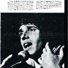 JULIEN CLERC magazine clipping Japan 1974 - exclusive photo [PM-100]