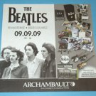 THE BEATLES Remastered CD flyer in French from Canada! [MX-250]
