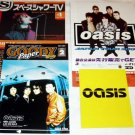 OASIS lot of concert and CD flyers Japan 2000 [PM-500]