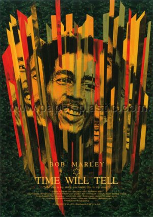 BOB MARLEY: TIME WILL TELL movie flyer Japan [PM-100f]