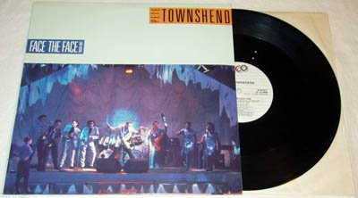 """PETE TOWNSHEND THE WHO Face the Face live / Won't Get Fooled Again live 12"""" single Canada [12-500]"""