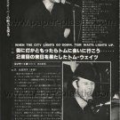 TOM WAITS magazine clipping Japan 1978 - exclusive photos [PM-100]