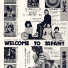 QUEEN Jazz LP advert Japan + TODD RUNDGREN ROD STEWART LINDA RONSTADT AC/DC MARIA MULDAUR [PM-100]