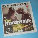 THE RUNAWAYS KRISTEN STEWART movie feature in Canadian magazine March 18, 2010 [SP-500]