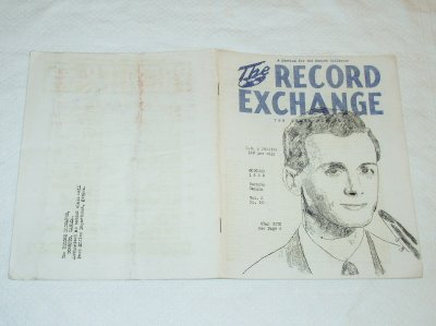 The Record Exchange October 1952 Canada feat. Stan Getz [PM-100]
