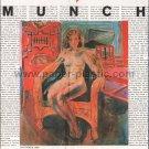 EDVARD MUNCH art exhibition flyer Japan 1992 [PM-100]