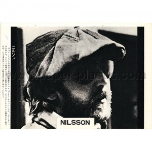 NILSSON magazine clipping Japan 1974 #2 [PM-100]