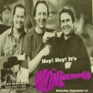 THE MONKEES CLAY WALKER KEVIN SHARP KIRK FRANKLIN BARRY MANILOW newspaper 1997 [SP-250t]