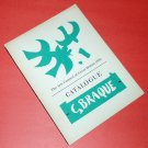 GEORGES BRAQUE exhibition catalogue UK Arts Council of Great Britain 1956 [PM-500]