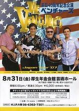 THE VENTURES Osaka concert flyer Japan August 2007 [PM-100f]