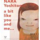 YOSHITOMO NARA gatefold exhibition flyer 2012 Japan [PM-200]
