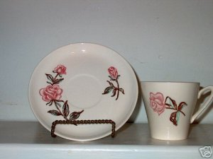 Stetson Ovenproof Rose Pattern Cup and Saucer I17