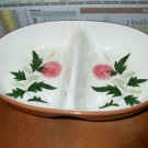 Stangl Thistle Divided Oval Vegetable Bowl    B09