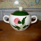 Stangl Thistle Sugar Bowl with Lid  B08