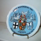 1983  Wandertage German Collectors Plate   I18