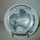 1986  Wandertage German Collectors Plate   I18
