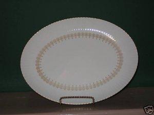 Gold China Triumph Oval Serving Platter  I52