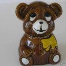 Small Honey Bear Houston Foods 1987 No Dipper  A6