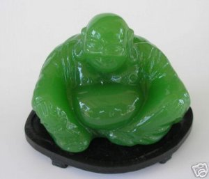 Green Buddha Made in the Peoples Republic of China A6