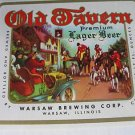 Lot of 10 Old Tavern Premium  Lager Beer Labels A6