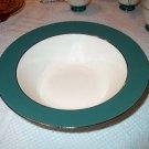 Laughlin Cavalier Eggshell Green Large Serving Bowl I05