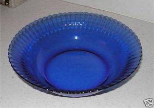Beautiful Blue  Dish Bowl  Made in Brazil     M4