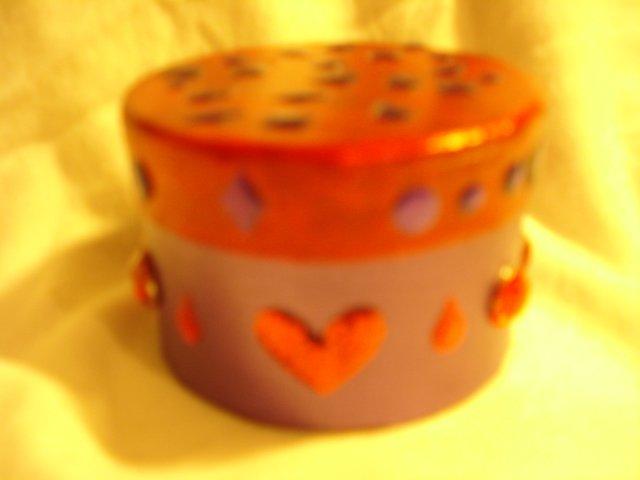 PURPLE & RED GIFT BOX